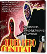 Super Hero Central Canvas Print