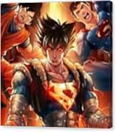 Super Heros  Canvas Print