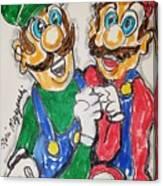 Super Mario Brothers Canvas Print