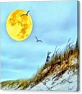 Super Moon 09-27-15 Canvas Print