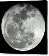 Super Moon Canvas Print