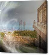 Super Natural Aliens Are Coming Getty Museum  Canvas Print
