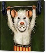 Super Rat Canvas Print