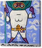 Super Tooth Canvas Print
