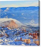 Superb View Of Sunset Point, Bryce Canyon National Park Canvas Print