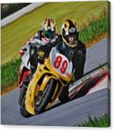 Superbikes Canvas Print
