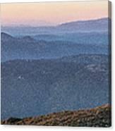 #superbloom Sunset Canvas Print