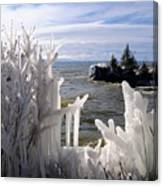 Superior Ice Formations Canvas Print