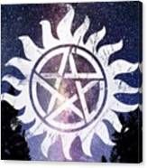 Supernatural Anti-possession Symbol Wood Print