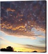 Supernatural Sunset Two Canvas Print