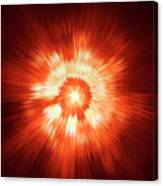 Supernova 2 Canvas Print