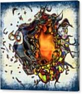 Supernova In Harlequin Canvas Print