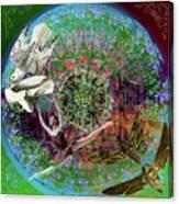 Superstar Electromagnetic Starchild Canvas Print