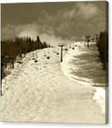 Superstar Skiing Canvas Print
