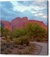 Superstition Mountains Arizona Canvas Print