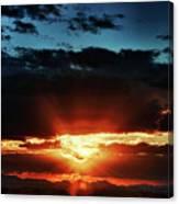 Superstition Sunrise Canvas Print