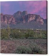 Superstition Sunset Canvas Print