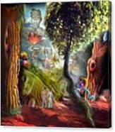 Superstonehenge - Long View Canvas Print