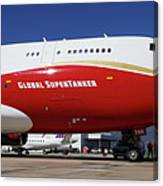 Supertanker At Colorado Springs Canvas Print