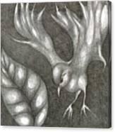 Supposedly Bird  Canvas Print