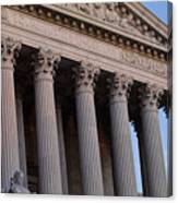 Supreme Court Building Canvas Print