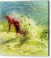 Surf Art Canvas Print