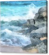 Surf Break Canvas Print