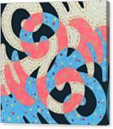 Surf Dance Canvas Print