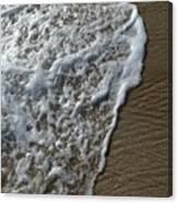 Surf Intricacies  Canvas Print