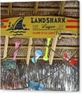 Surf This Tiki Hut Canvas Print