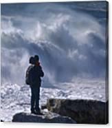 Surf Watcher Canvas Print