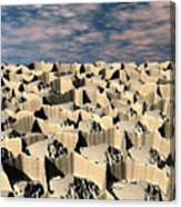 Surface Of Another World Canvas Print