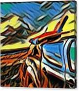 Surfari Time Canvas Print