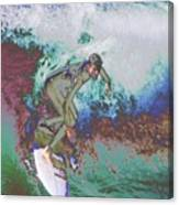 Surfer 3 Canvas Print