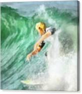 Surfer 46 Canvas Print