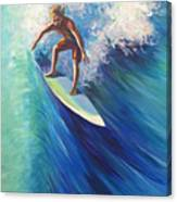 Surfer II Canvas Print