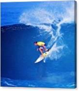 Surfer Mitch Crews Canvas Print