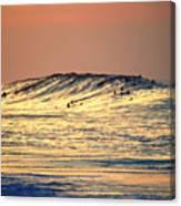 Surfers Gold Canvas Print