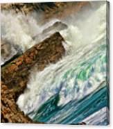 Surfers Nightmare Canvas Print