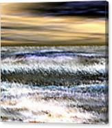 Surfer's Sunset Canvas Print