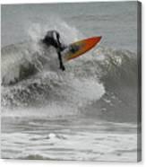 Surfing 57 Canvas Print