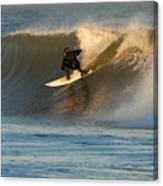 Surfing 80 Canvas Print