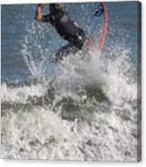 Surfing 92 Canvas Print