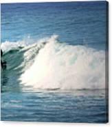 Surfing Asilomar Canvas Print