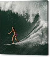 Surfing Hawaii 2 Canvas Print