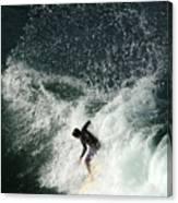 Surfing Hawaii 4 Canvas Print