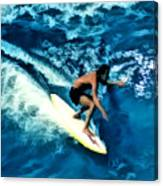 Surfing Legends 12 Canvas Print