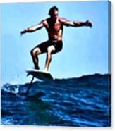 Surfing Legends 5 Canvas Print