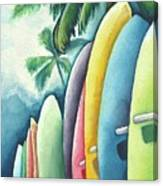 Surf's Up Canvas Print