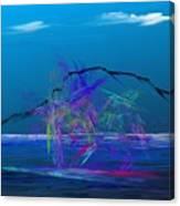 Surfs Up Canvas Print